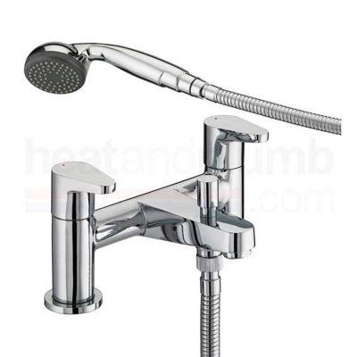 Bristan Quest Bath Shower Mixer Tap Chrome Plated