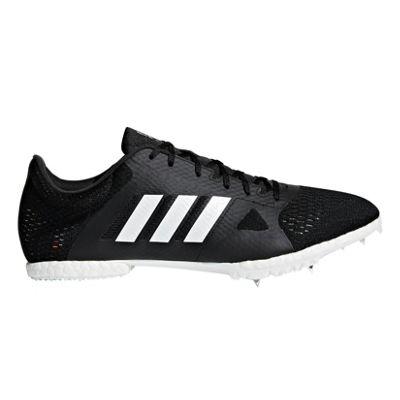 adidas adizero Middle Distance Track & Field Running Spike Shoe Black - UK 7.5