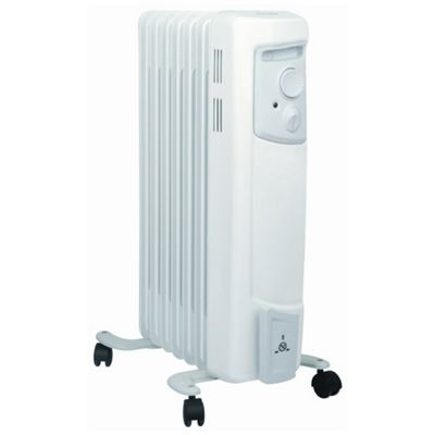 Dimplex OFC1500 1.5kW Oil Filled Column Radiator with Choice of Heats