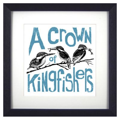Buy Animal Friends Framed Print - Kingfishers from our All Frames ...