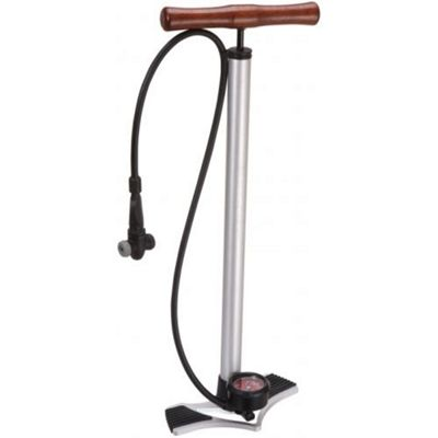 Acor Classic Floor Pump. Alloy Base, Multi-valve Head
