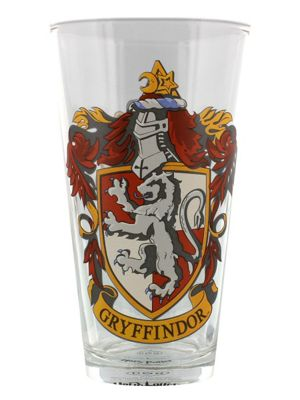 Harry Potter Gryffindor Crest Boxed Drinking Glass