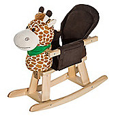 Homcom Animal Rocking Ride on Toy Chair for Kids (Giraffe)