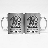 Star Wars Personalised Limited Edition Collectors Mug - 40th Anniversary