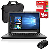 "Lenovo B50-50 80S2000BUK 15.6"" Laptop With Internet Security, Wireless Mouse & Case"