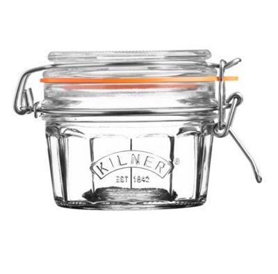 Kilner Facetted 0.25 Litre Jar - Set of 3