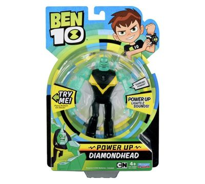Ben 10 Power up Diamondhead