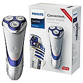 Philips SW3700/07 Star Wars Special Edition R2D2 Mens Dry Shaver