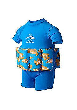 Konfidence Floatsuit Clownfish - Blue