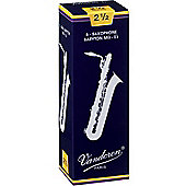 Vandoren 2 1/2 Baritone Sax Reed (x5)