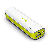 Kit Universal Power Bank with LED Flashlight 2,000mAh