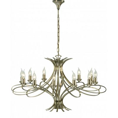 Pendant Light - Brushed brass effect plate