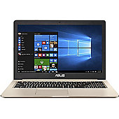 "ASUS VIVOBOOK 15.6"" Intel Core i7 GeForce GTX 1050 8GB RAM 1000GB 128GB SSD Windows 10 Slim Laptop Gold"