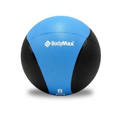 Bodymax Medicine Ball - Black/Lt Blue 8kg