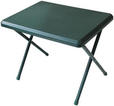 Yellowstone Resin Top Low Profile Folding Table Green