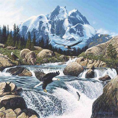 Fishing at Eagle Rocks - 1000pc Puzzle