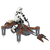 Star Wars Speeder Bike Drone