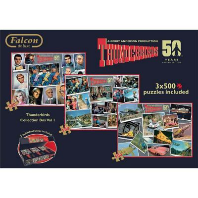 Thunderbirds - Collector B1 - 3 x 500pc Puzzle