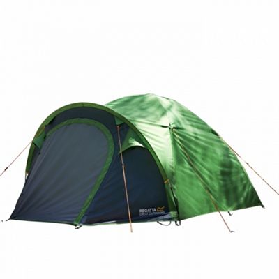Regatta Kivu V2 3 Man Tent - Extreme Green/Seal Grey
