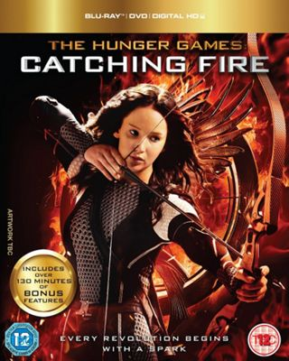 The Hunger Games: Catching Fire Blu Ray Triple Play 2 Disc