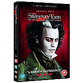 Sweeney Todd - The Demon Barber Of Fleet Street (DVD)