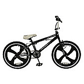 "Zombie Terror 20"" Mag Wheel 360 Gyro Freestyle BMX Bike Black/White"