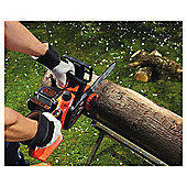 Black & Decker 18V Electric Chain Saw, 25cm Bar - Without Battery