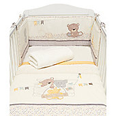 B Baby Bedding Teddy's Toy Box Bed in a Bag Size cot/cot bed