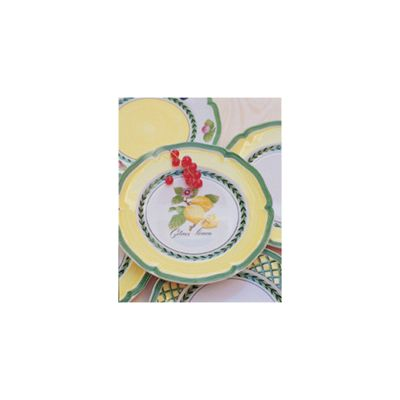 Villeroy & Boch French Garden Orange Salad Plate
