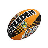 Steeden NRL Wests Tigers 2018 Supporter Rugby League Ball - 5