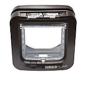 SureFlap Microchip Cat Flap - Brown Frame