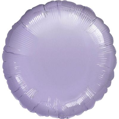 Pastel Lilac Round Balloon - 18 inch Foil