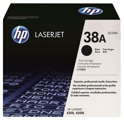 Hewlett-Packard Q1338A Colour No.38A Inkjet Print Cartridges