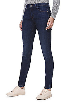 F&F Push-Up Low Rise Skinny Jeans - Indigo