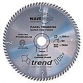 Trend - Saw blade panel trim 216mm x 60 teeth x 30mm - PT/216X60X30