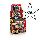 Topps Slam Attax Takeover Trading Card Game Bundle - 50 Packs Supplied