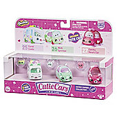 Shopkins Cutie Cars 3 Pack - Candy Mix