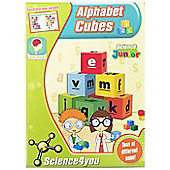 Science4you Alphabet Cubes Letter Learning Kit