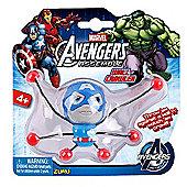 Marvel Avengers Assemble Creepeez Wall Crawler - Captain America