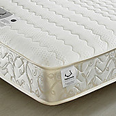 Happy Beds Membound Open Coil Sprung Memory and Reflex Foam Mattress