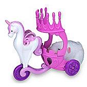 Zhu Zhu Princess Royal Unicorn Carriage, Includes 1 Carriage