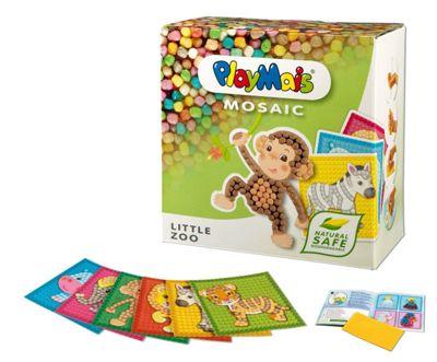Playmais Mosaic Little Zoo Craft Kit