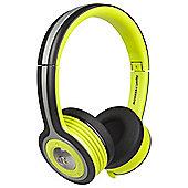 Monster iSport Freedom Bluetooth Wireless On-Ear Green Headphones