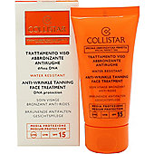 Collistar Speciale Abbronzatura Perfetta Anti-Wrinkle Tanning Face Treatment 50ml SPF15