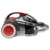 Hoover Whirlwind SE71WR02 Bagless Cylinder Vacuum Cleaner - Black & Red