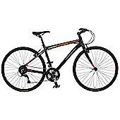"""Claud Butler Urban 500 18"""" Hybrid Bike 700c Carbon Forks"""