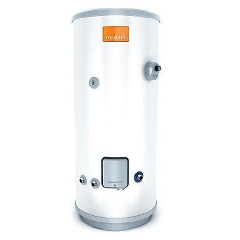 Heatrae Sadia Megaflo Eco 210DD Unvented Direct Stainless Steel Hot Water Cylinder 210 Litres