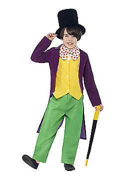 Roald Dahl Willy Wonka - Child Costume 7-9 years
