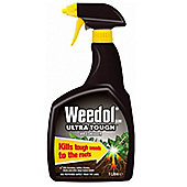 Weedol Ultra Tough Weedkiller - Spray Gun - 1 Litre