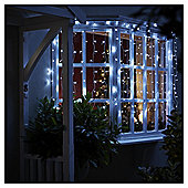 160 Connectable Icicle Christmas Lights, Bright White